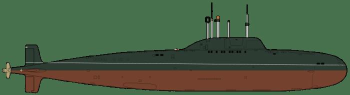 Субмарина проекта 971