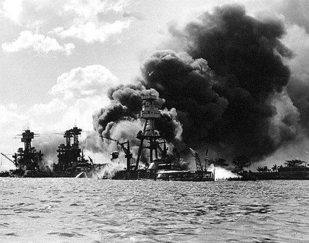 Тонущие корабли США