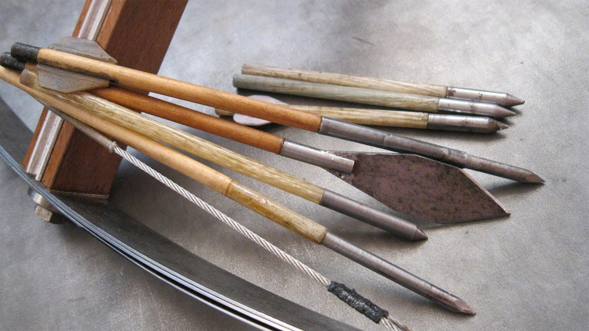 Виды арбалетных стрел