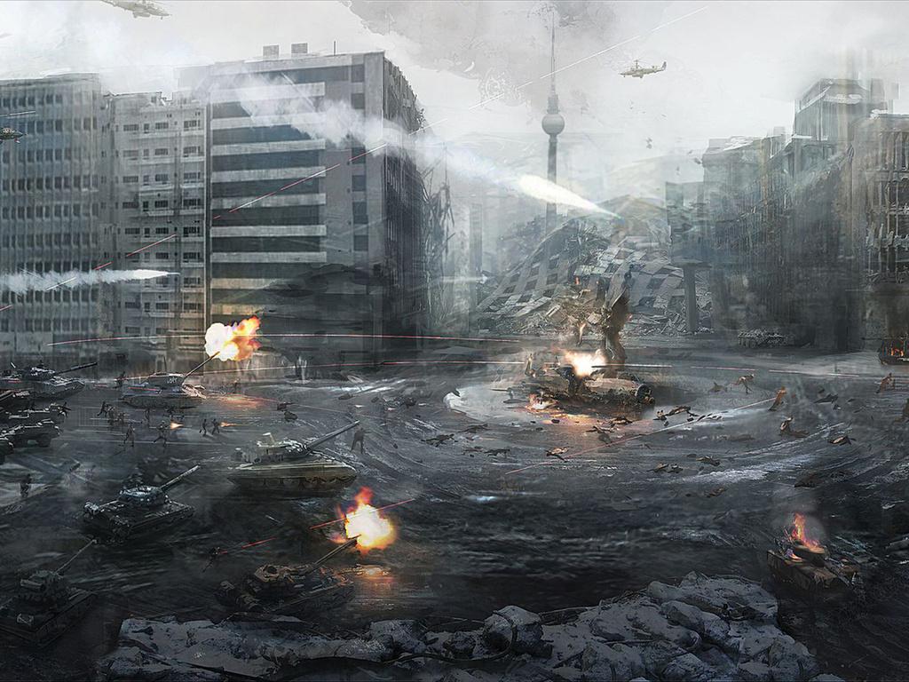 Военный конфликт будущего