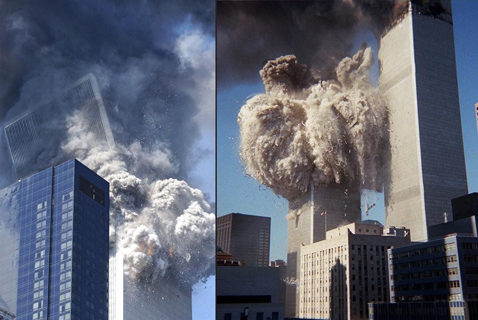 Взрыв башен Всемирного Торгового Центра
