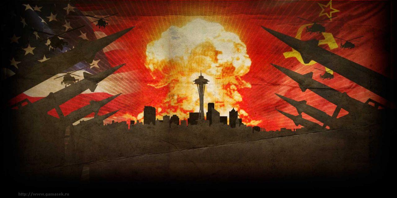 Ядерный взрыв - возможное окончание холодной войны