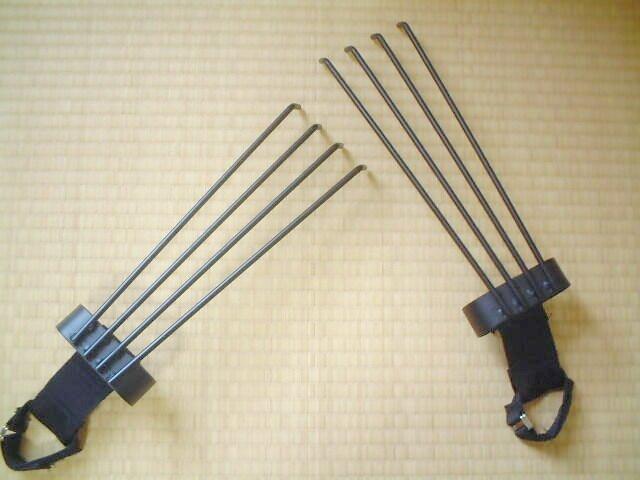 Японские боевые когти