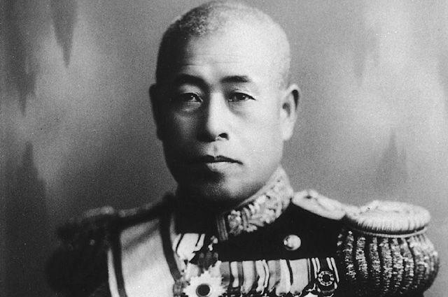 Японский адмирал Ямамото