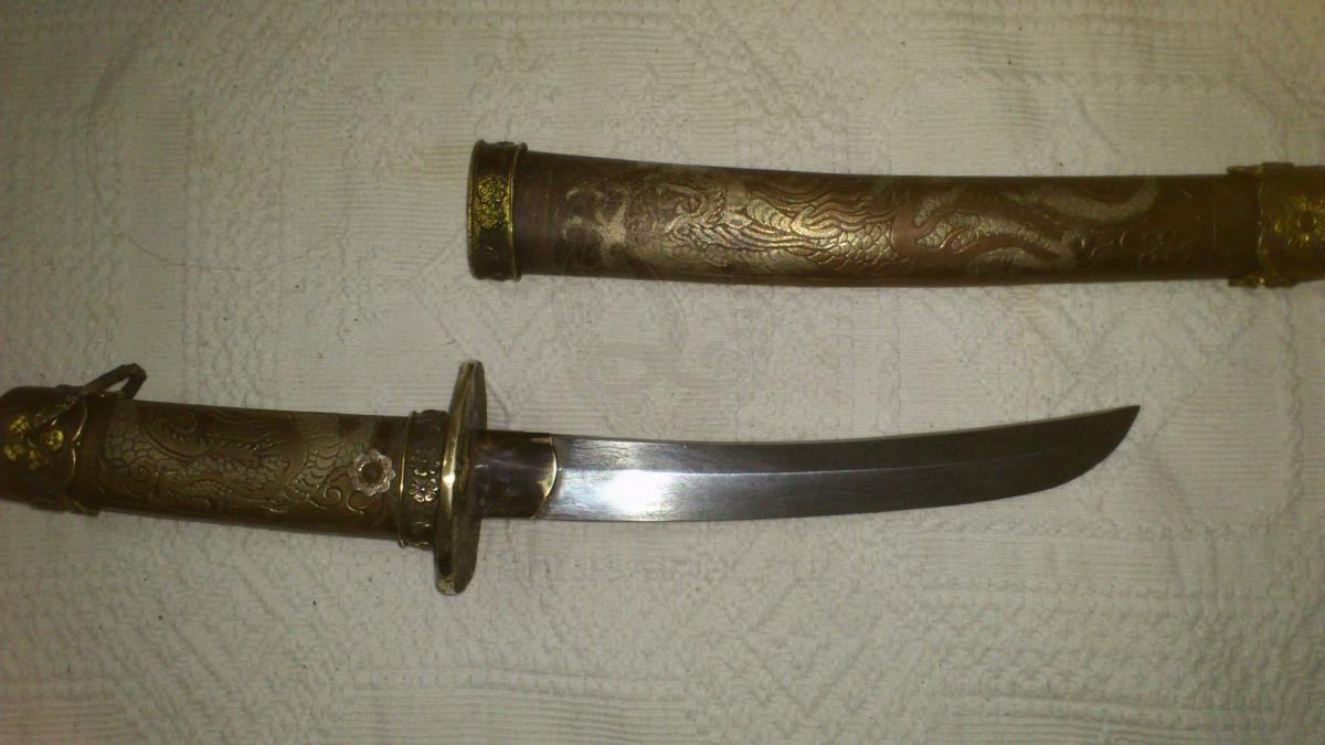 Японский меч самурая