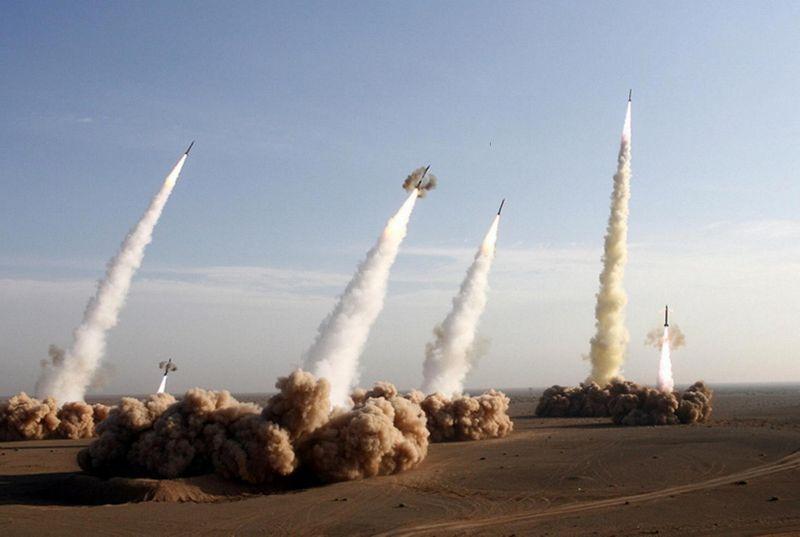 """Запуск ракет системы """"Периметр"""""""