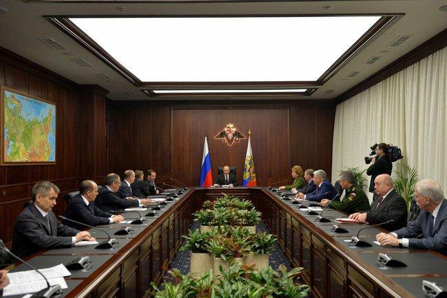 Заседание у Президента