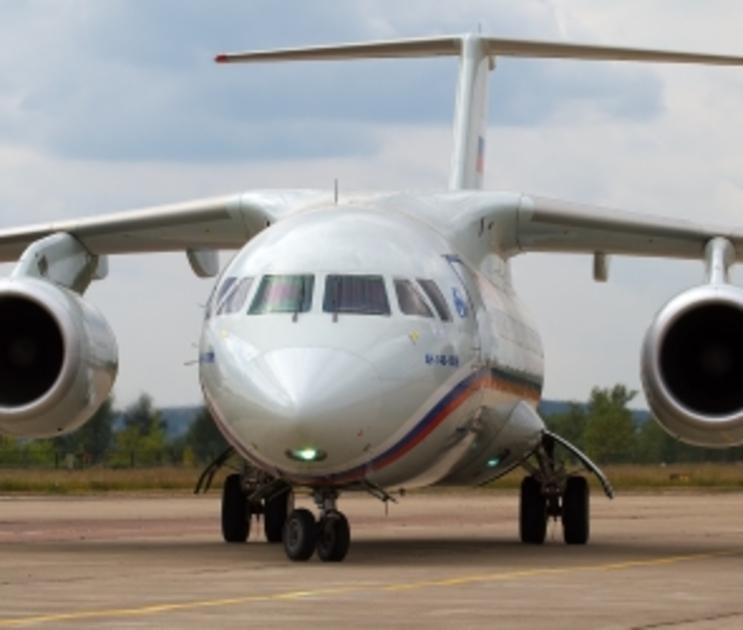 АН-148 на ВПП