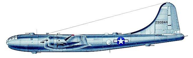 B-29 схема