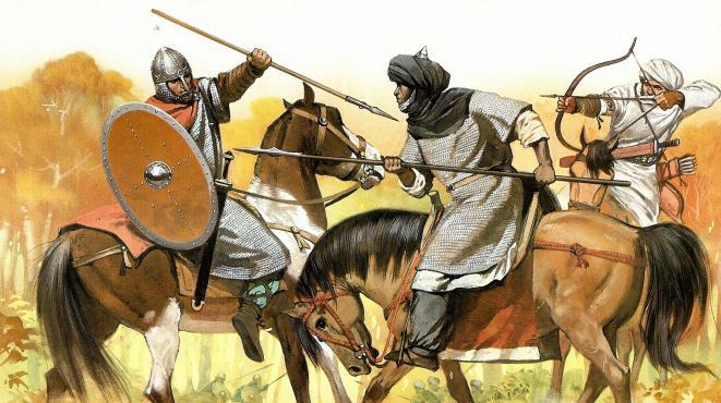 Битва франков с маврами