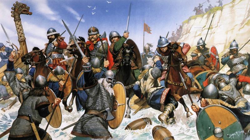 Битва норманнов с франками