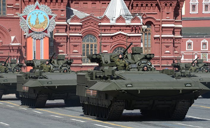 БМП Т-15 на параде