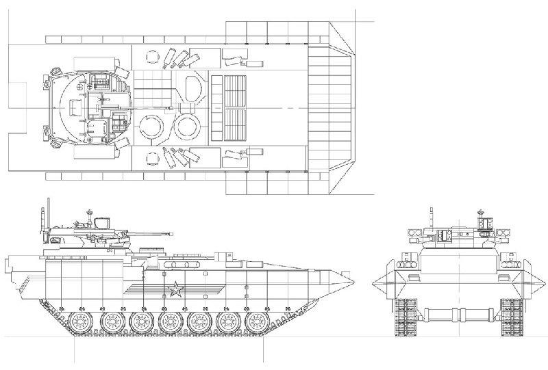 БМП Т-15 схема