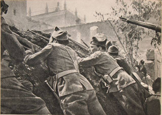 Бои в Толедо 1936