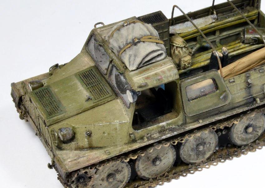 Болотоход ГАЗ 47 (ГТ-С)