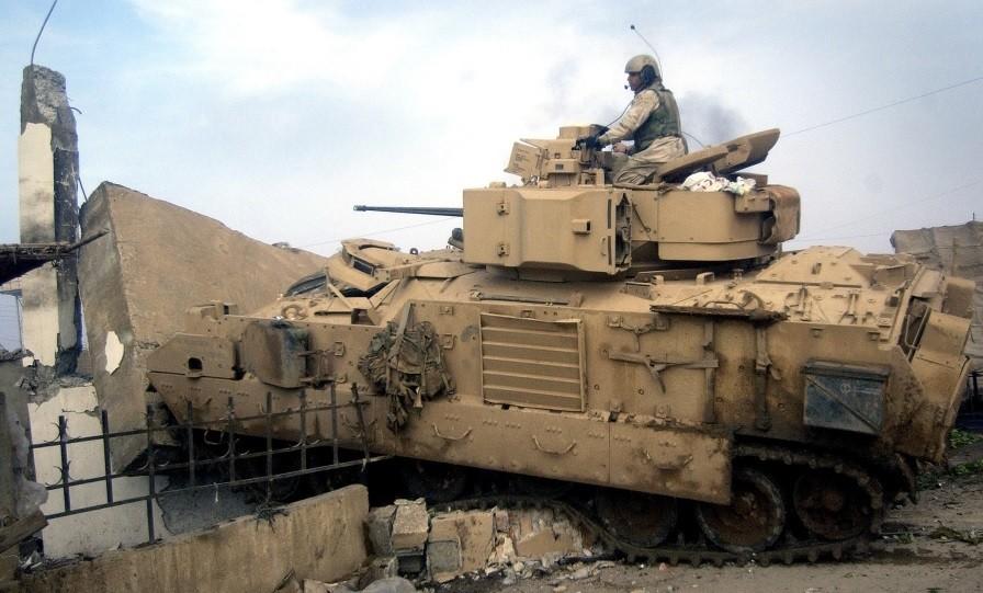 Бредли в Ираке