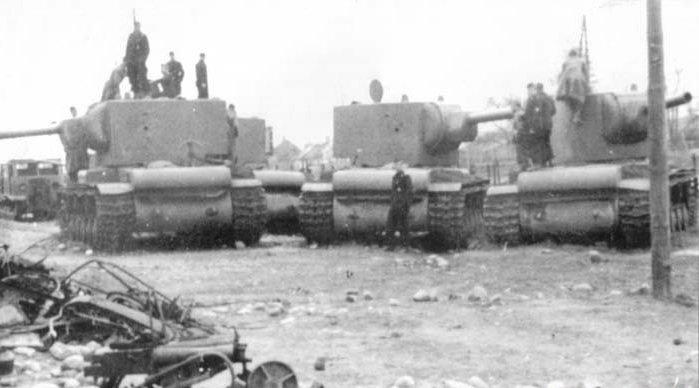 Брошенные танки
