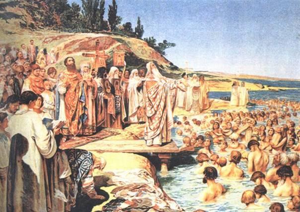 Древнерусская фреска