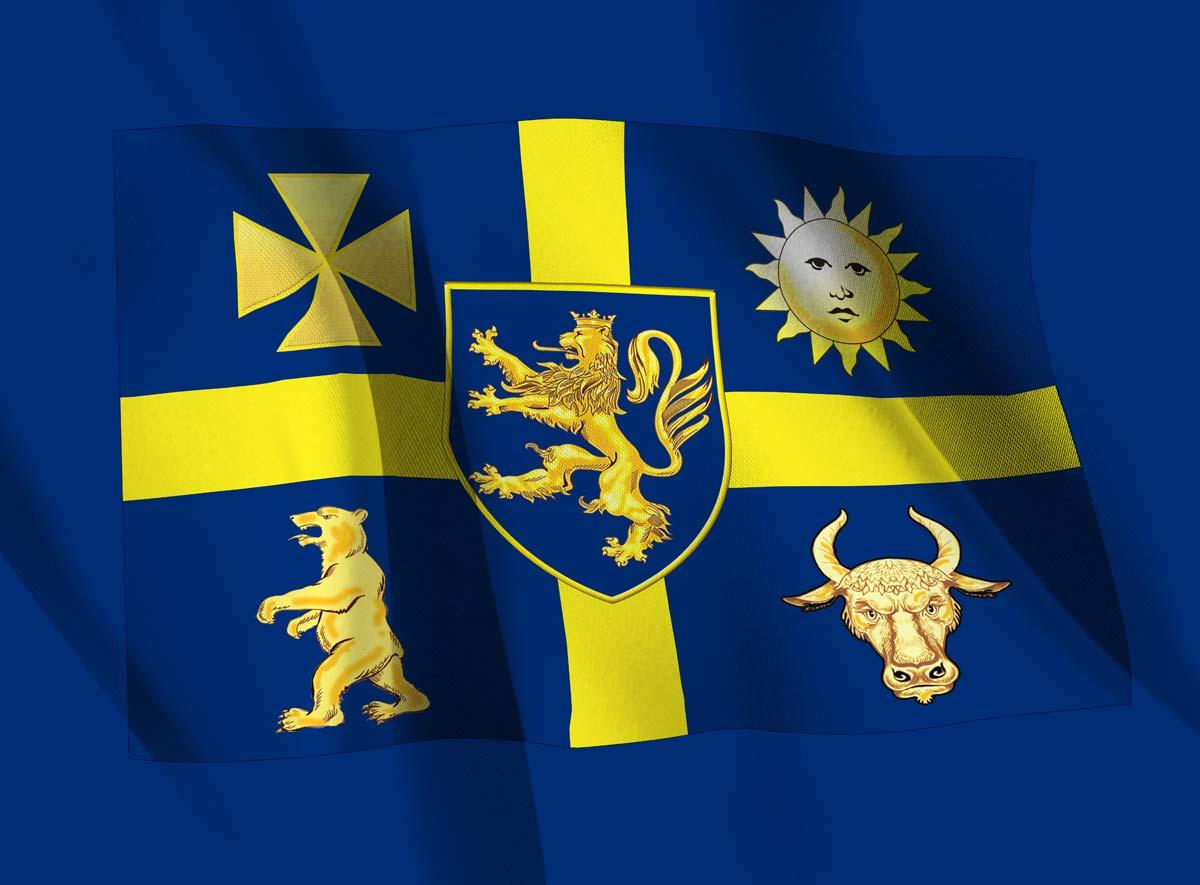 Флаг Украины времен Скоропадского