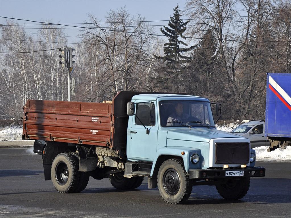 ГАЗ 3306 на дорогах России