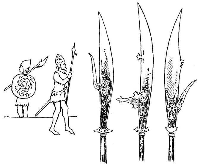 Глефы - боевые родственники косы