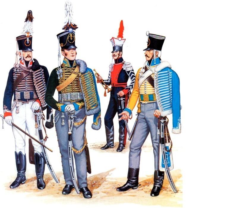 Гусарские мундиры