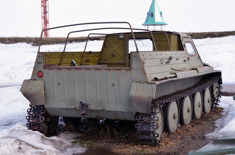 Гусеничный вездеход Советского Союза