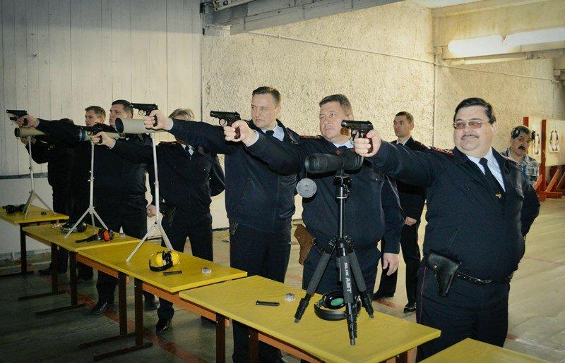 Команды при стрельбе