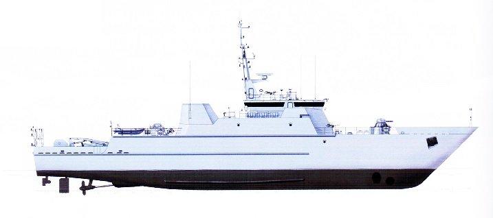 Корабль проекта 12700
