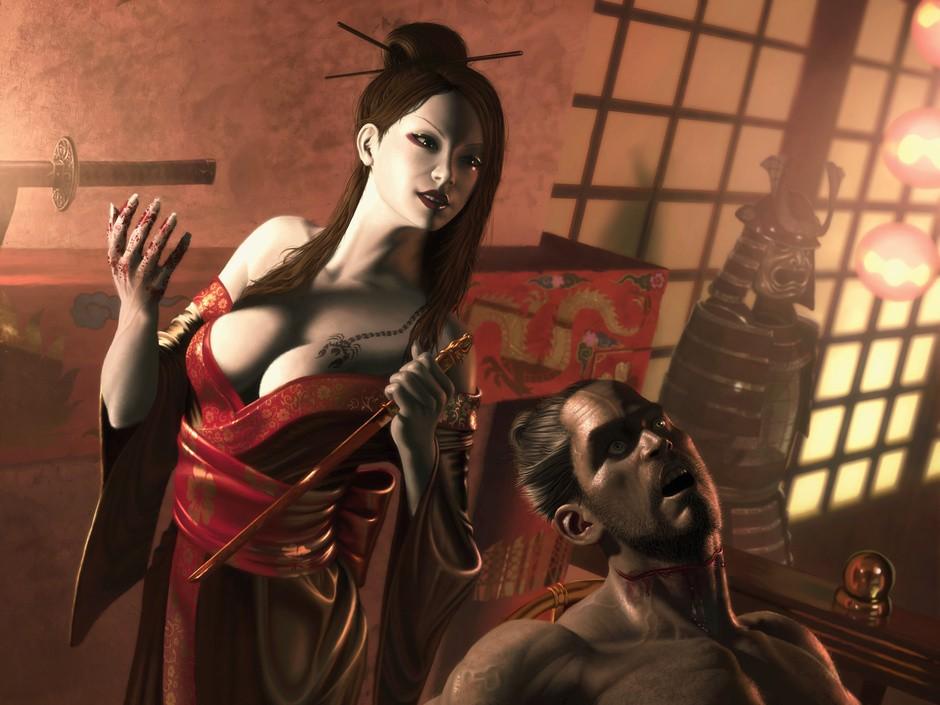 Куноити - женщина-ниндзя
