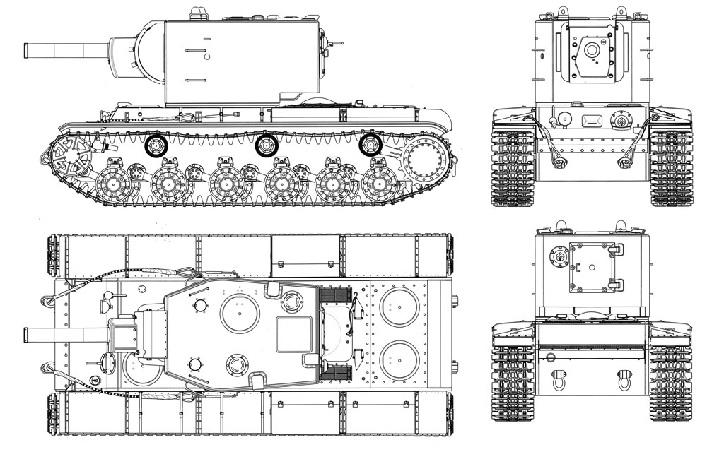 КВ-2 схема