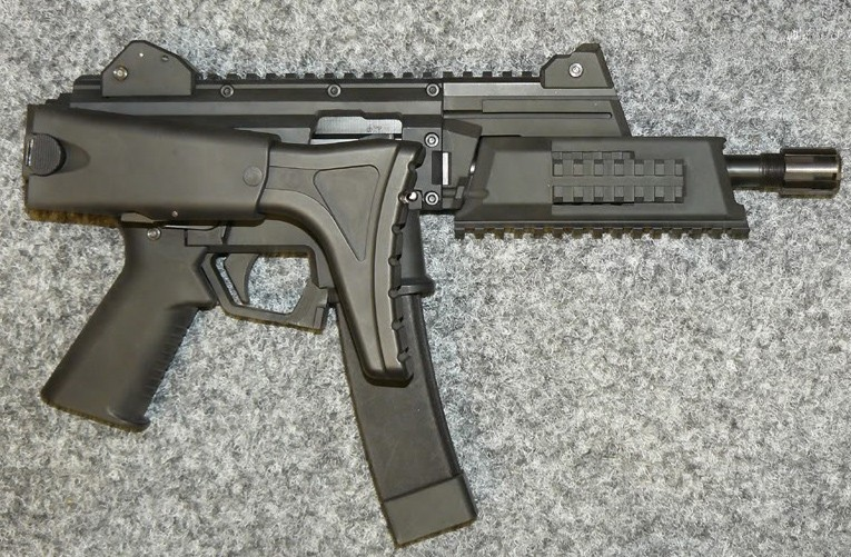 Легендарный чешский пистолет-пулемет