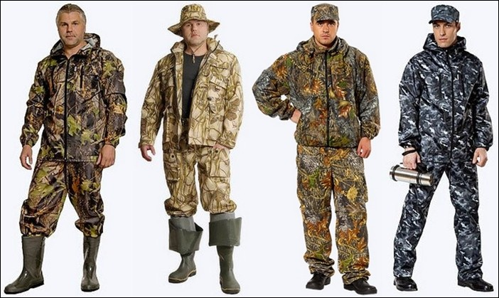 Летние костюмы для рыбалки