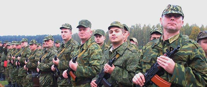 На военном сборе