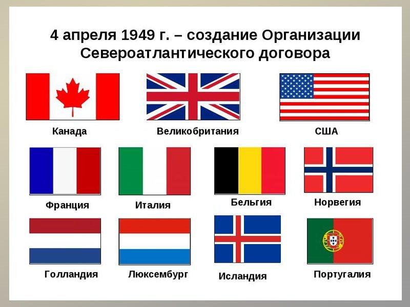 НАТО 1949 год