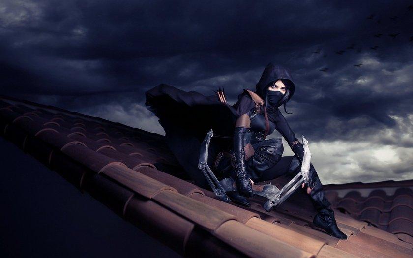 Ниндзя на крыше