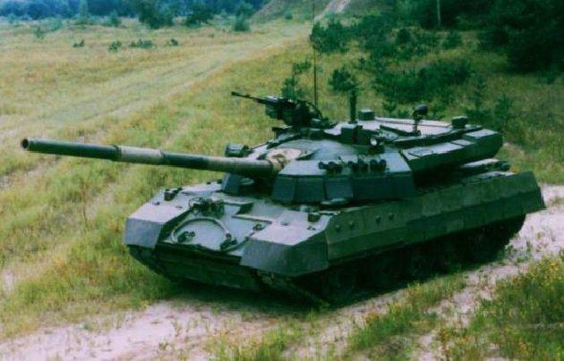 Опытный образец Т-55