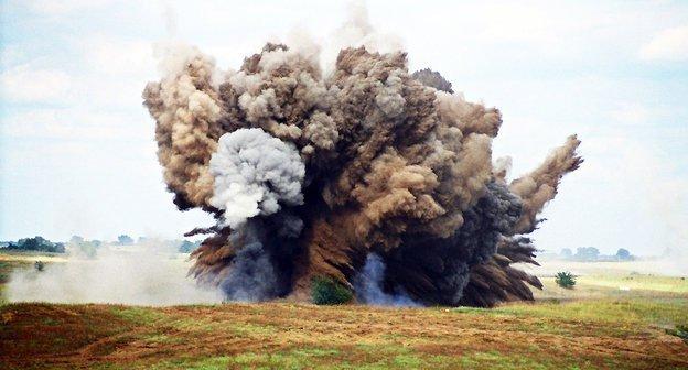 Осколочный взрыв