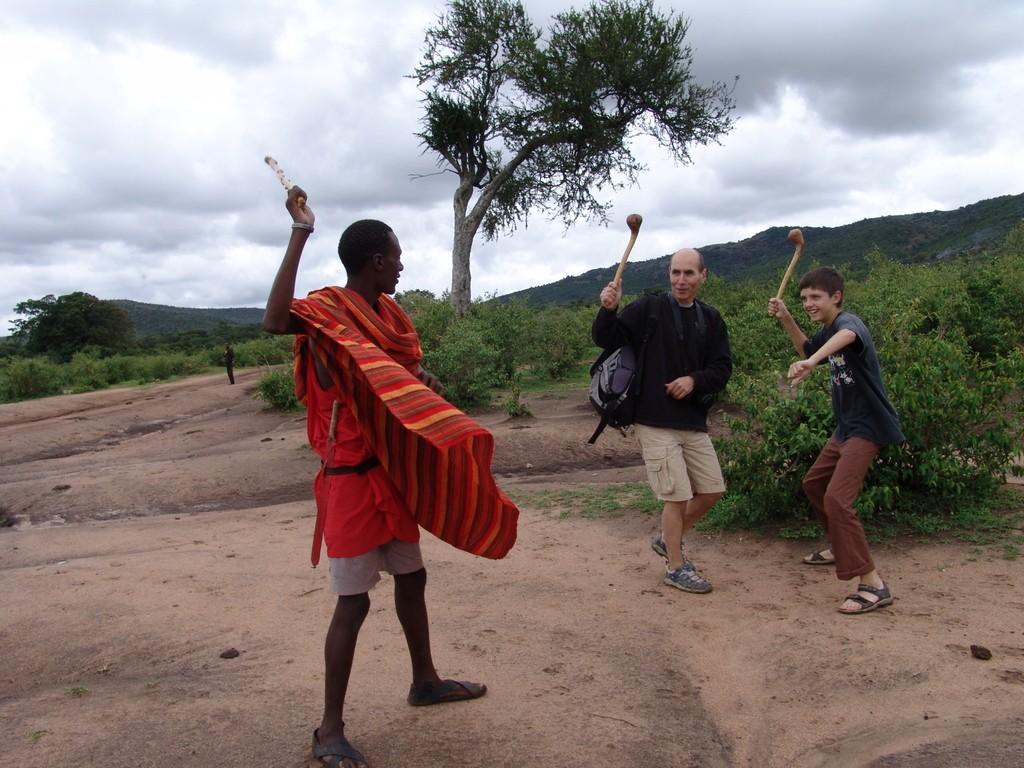 Палицы народа Масаи