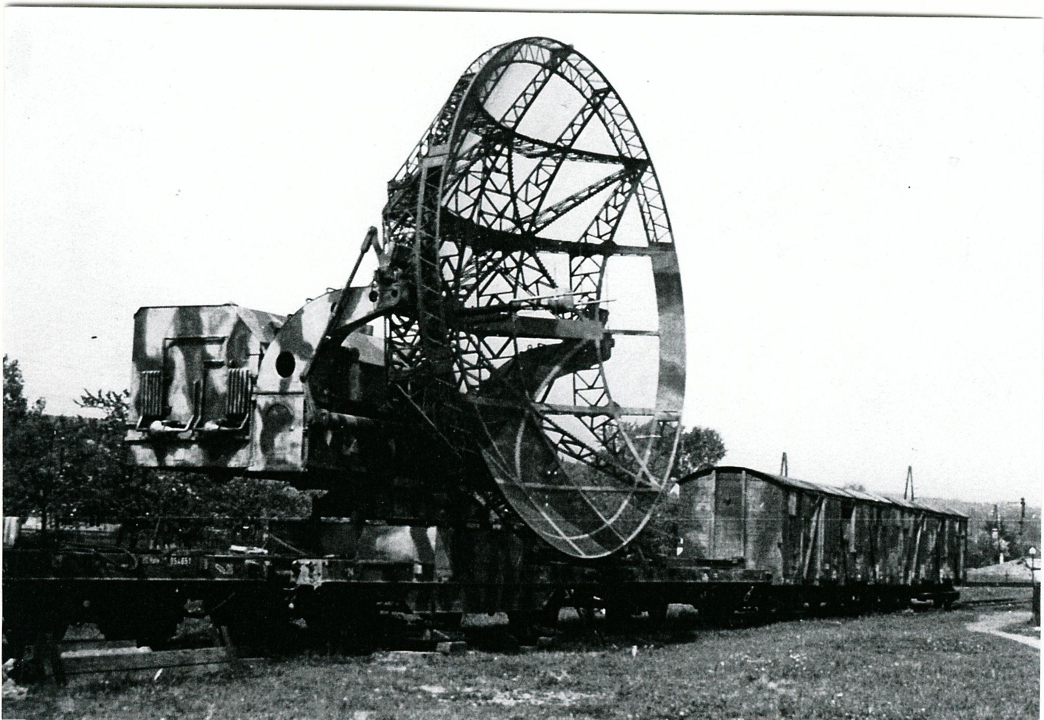 Перевозка комплекса РЛС по железной дороге