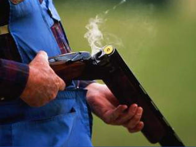 Перезарядка охотничьего ружья