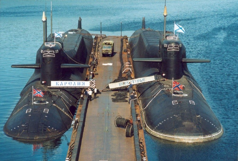 Подводные лодки проекта 667БДРМ
