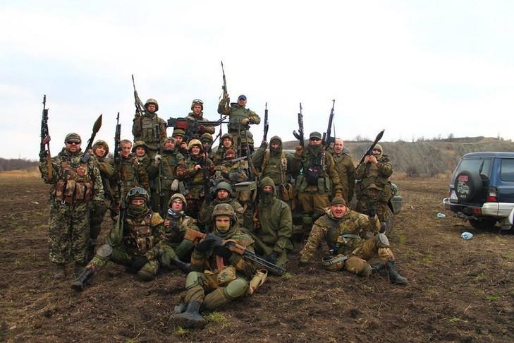 Правый Сектор перед боевой операцией