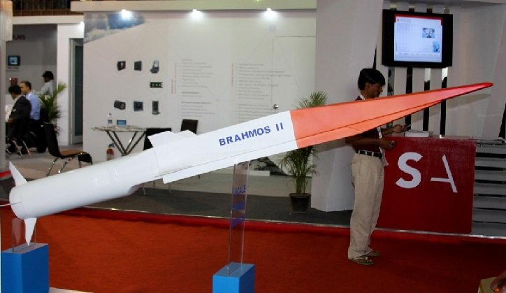 Прообраз циркона - индийская ракета Brahmos