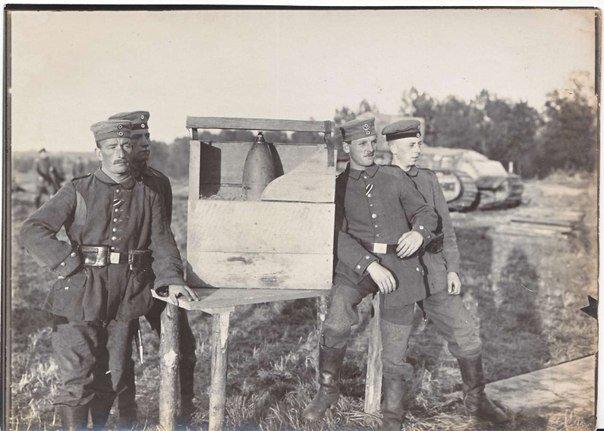 Противотанковая мина Первой мировой войны