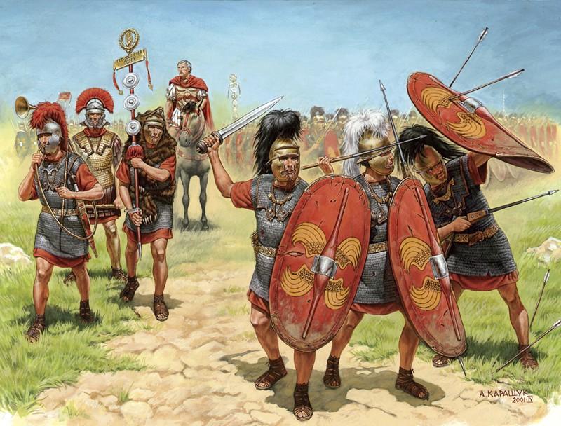 Римские легионеры