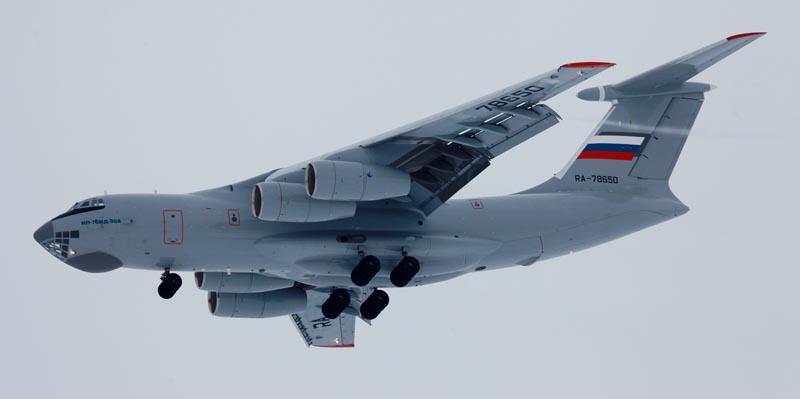 Российский ИЛ в полете