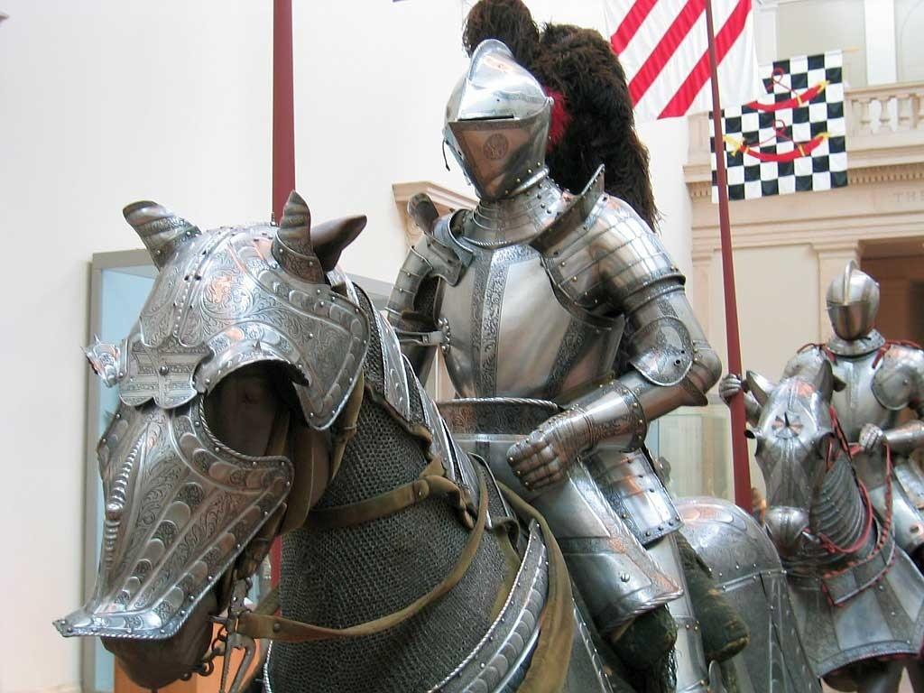 Рыцарь с копьем