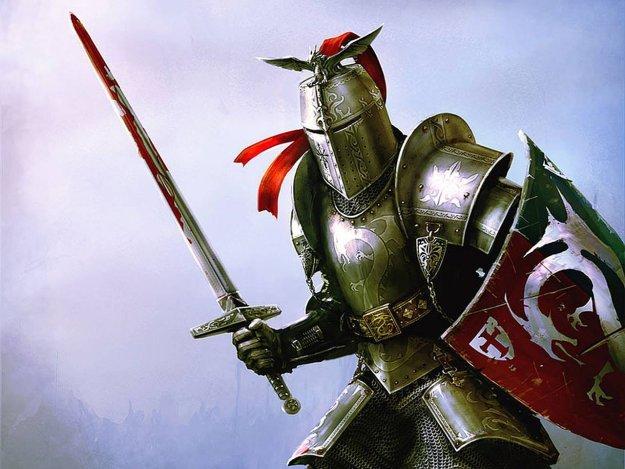 Рыцарь с окровавленным мечом