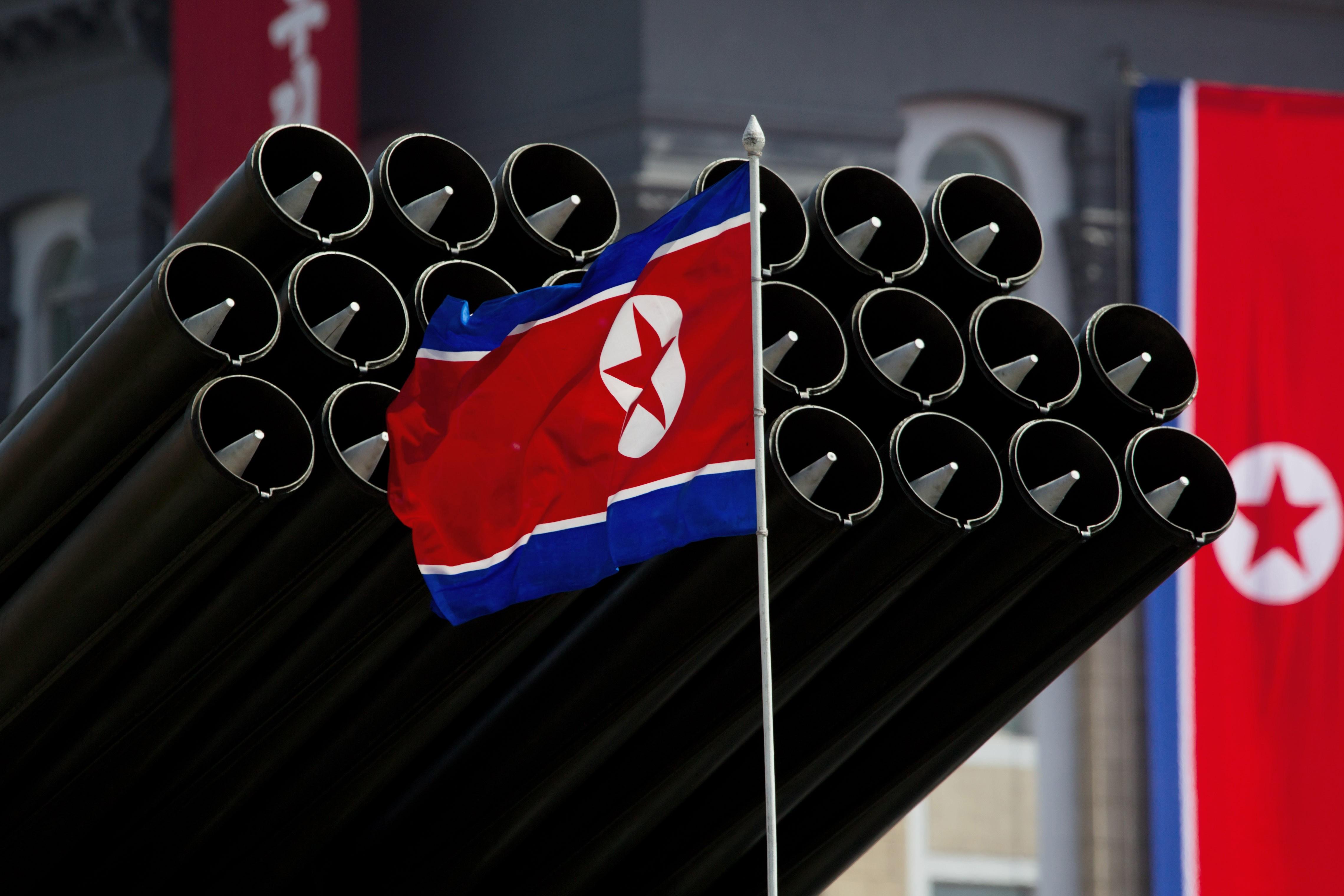 Северокорейские ракетные установки